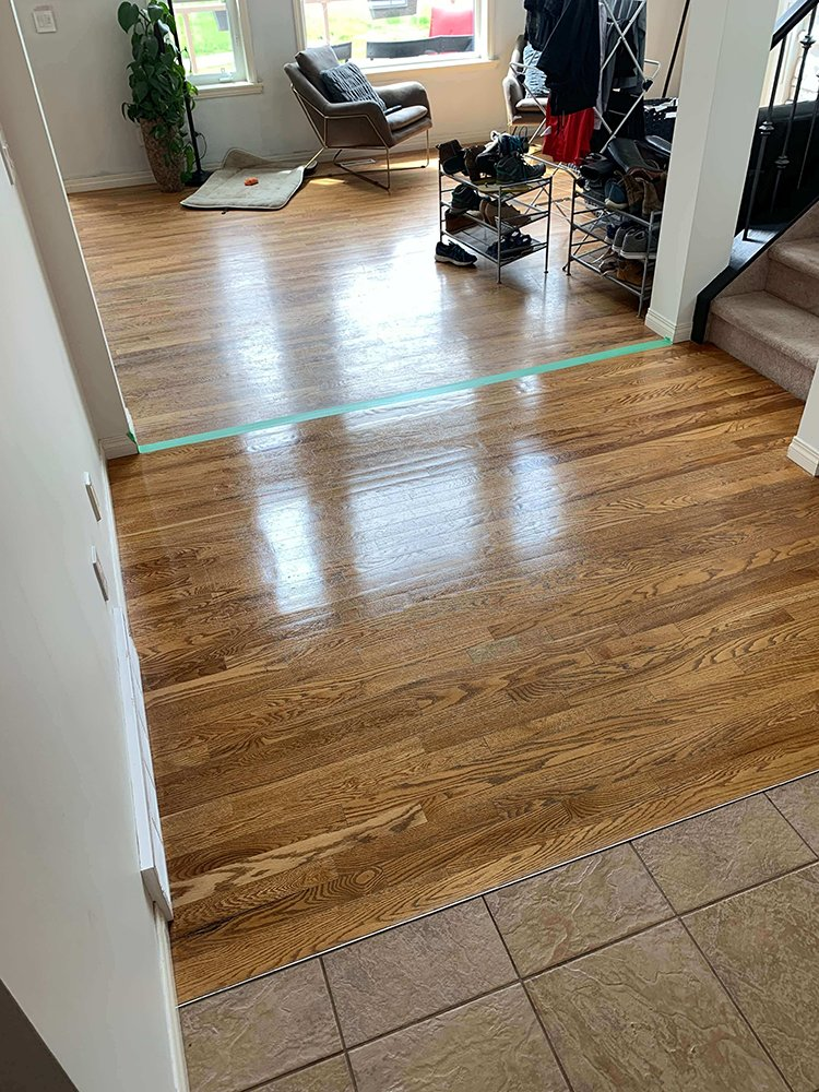 Calgary hardwood floor cleaners