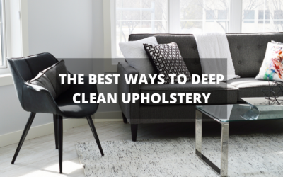 Best Ways to Deep Clean Upholstery